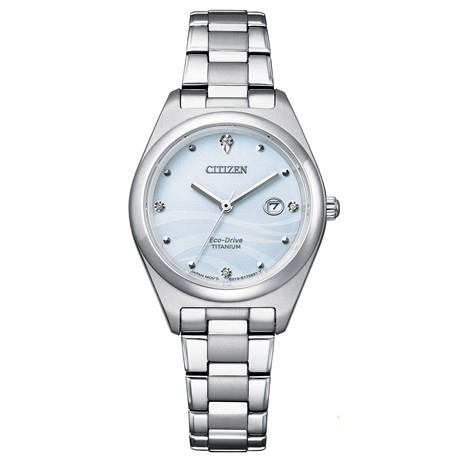 Citizen Eco Drive Lady Super Titanio