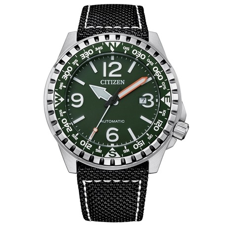 Citizen Automatico Green