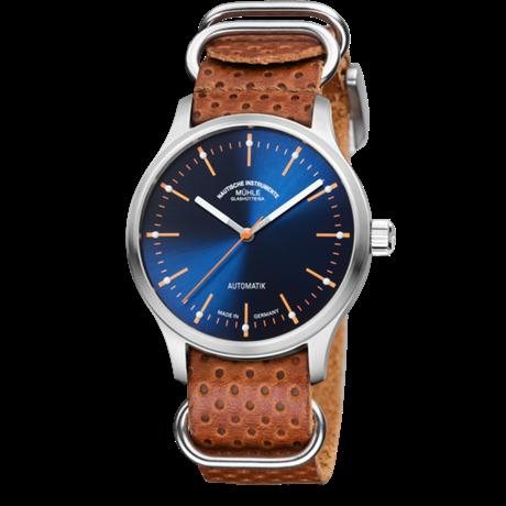 Uhr von Mühle Glashütte - Panova Blau