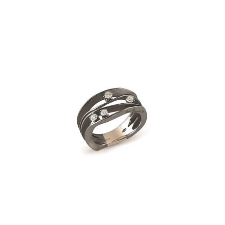 anello di ANNAMARIA CAMMILLI -DUNE BLACK