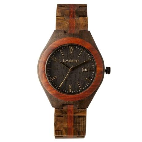 Orologio in legno Janos