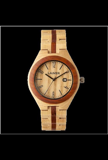 Orologio in legno Nico