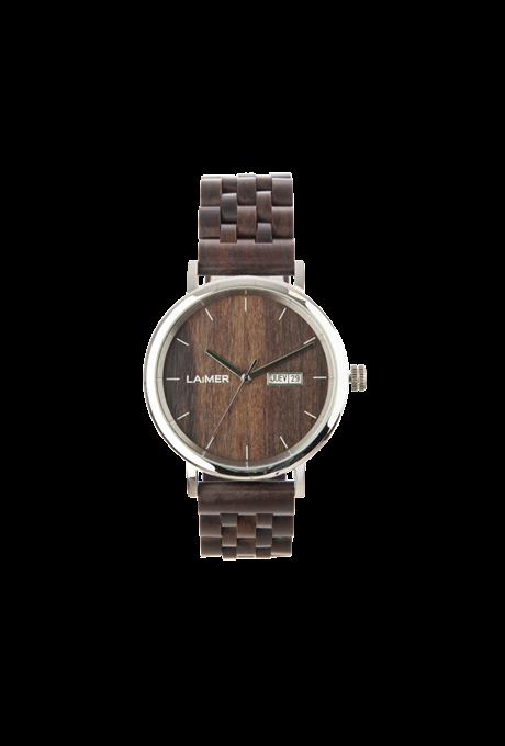 Orologio automatico in legno Ràul