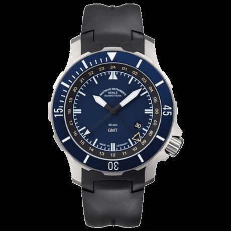 Uhr von Mühle Glashütte - Seebataillon GMT