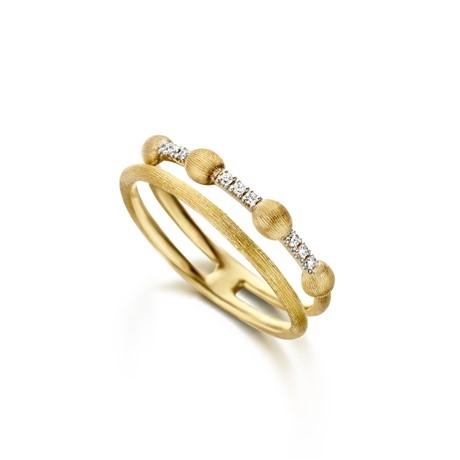 Ring von NANIS in 750er Gold und Brillanten