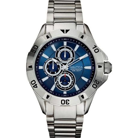 Nautica Chronograph Herren silver