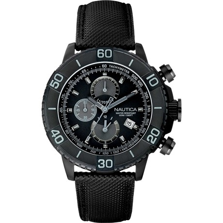 Nautica Cronografo Uomo Black