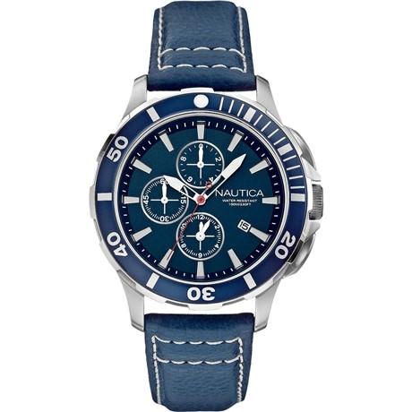 Nautica Cronografo Uomo Blu