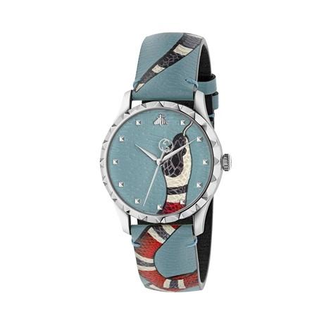 Gucci Le Marché des Merveilles Uhr blue