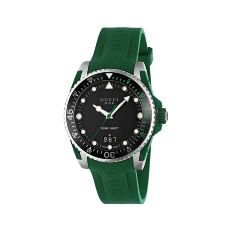 Gucci Dive Uhr Green